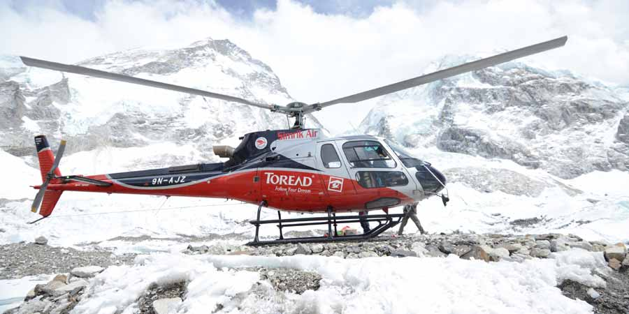 Annapurna base camp Helicopter trekking