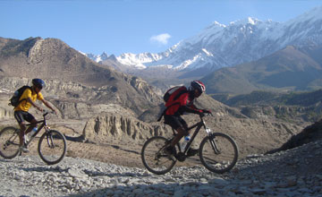 Annapurna  mountain biking tour