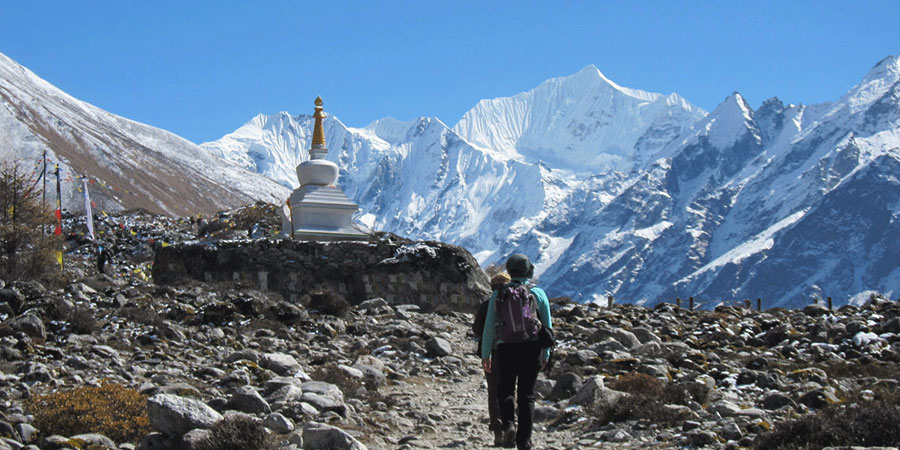 Langtang valley trek Nepal