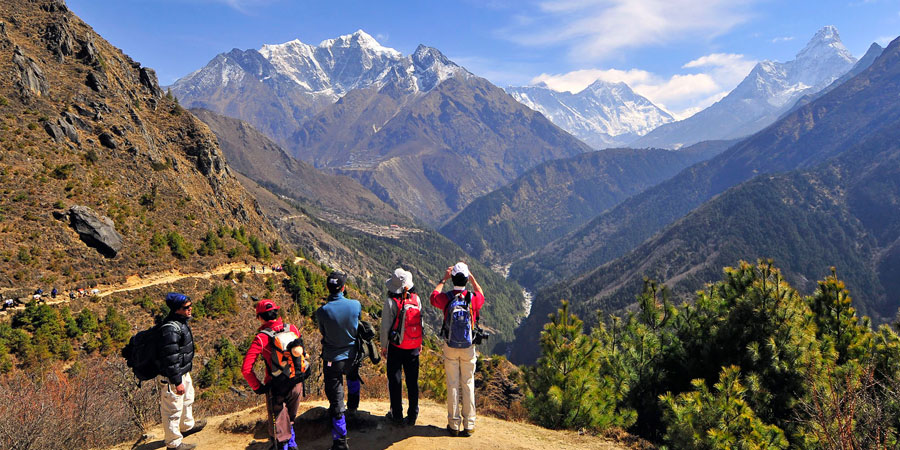 Hiking in Nepal