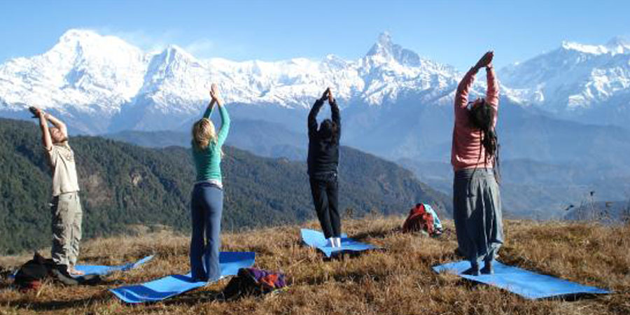 Yoga & Meditation tour  in Nepal