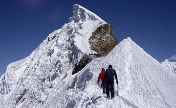 Lobuche west peak  climbing
