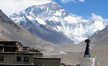 Tibet Everest base camp trekking