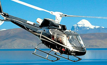 Tibet Helicopter tour