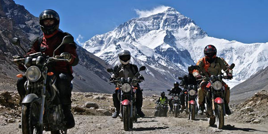 Tibet Motor biking tour